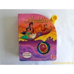 "Livre parlant ""Aladdin"" Mattel 1994"
