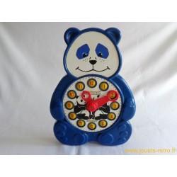 Horloge éducative Panda Kiddicraft Playclock