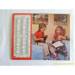 Almanach des PTT 1984