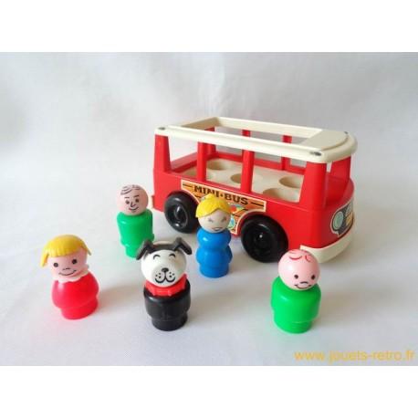 Mini Bus Fisher Price 1969