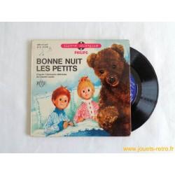 """""""Bonne nuit les petits"""" Livre Disque 45T"""