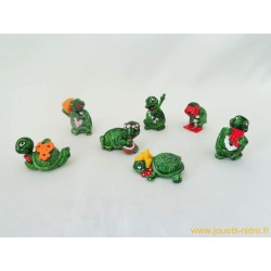 "lot figurines Kinder ""tortues"""