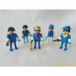 Lot figurines Klicky Playmobil 1974