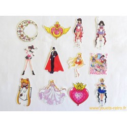 "Lot stickers ""Sailor Moon"""