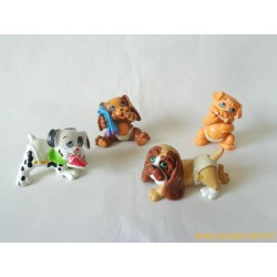 """Magic Babies"" lot de 4 figurines animaux"