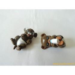 """Magic Babies"" lot de 2 figurines animaux"