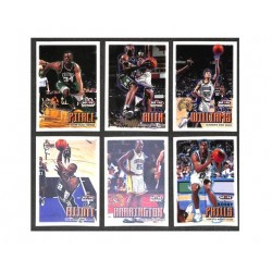 NBA Hoops Sky Box 99-00 set complet 185 cartes