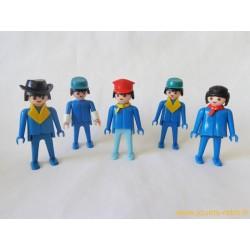 Lot figurines Klicky Playmobil 1974