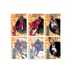 NBA UPPER DECK HARDCOURT 00-01 set complet 60 cartes