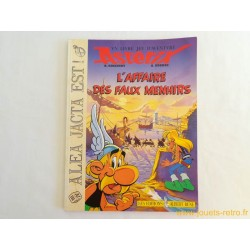 """Astérix """"l'affaire des faux menhirs"""" un livre jeu d'aventure"""
