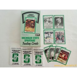 "Paquet cartes sport ""Michigan State Spartans"""