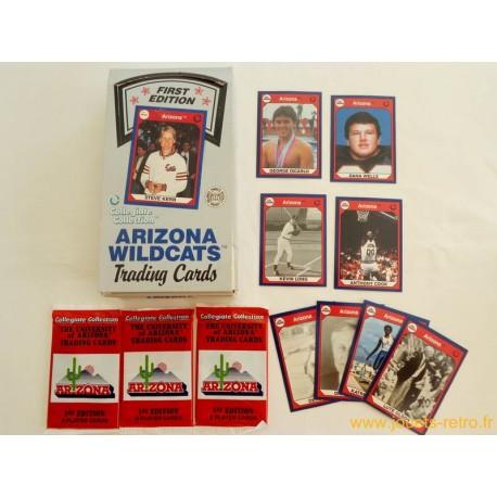 "Paquet cartes sport ""Arizona Wildcats"""