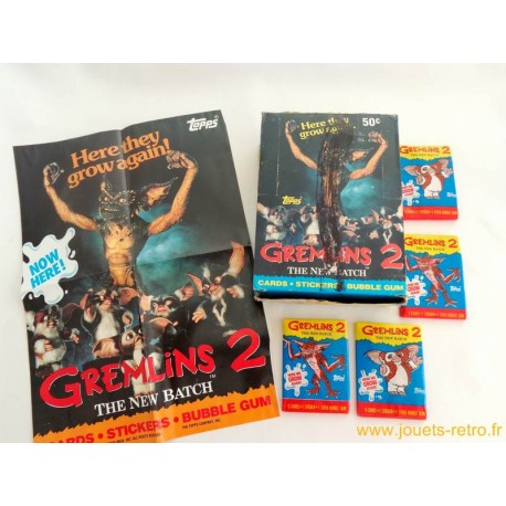 "Paquet de cartes ""Gremlins 2"" Topps 1990"