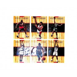 NBA UPPER DECK HARDCOURT 99-00 set complet 60 cartes