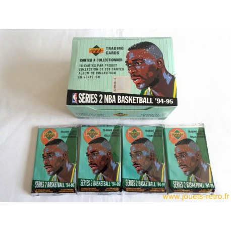 Paquet cartes NBA Upper Deck 94-95 série 2 Basketball