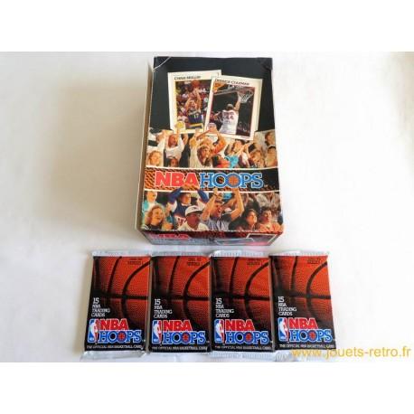 Paquet cartes NBA HOOPS 1991/92 série 1 Basketball