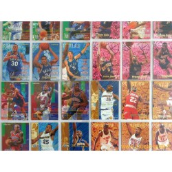 Lot 153 cartes NBA Fleer 95-96 série 1