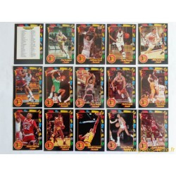 Lot cartes basketball Wild Card Collegiate 1st Edition 1992