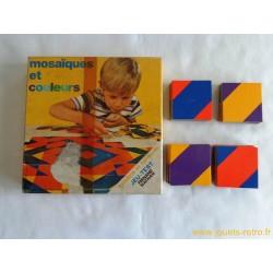 Mosaïques et couleurs - jeu Nathan 1971