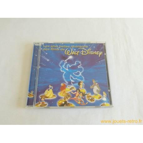 """cd """"Les plus belles chansons des films Walt Disney"""""""