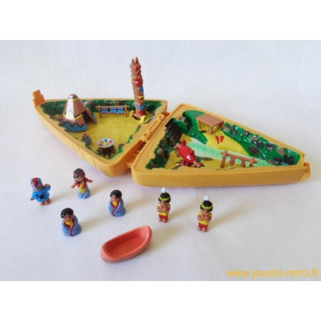 Tipi indiens style Polly Pocket