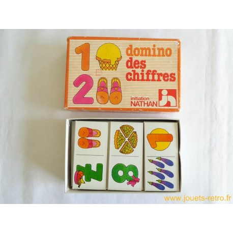 Domino des chiffres Nathan 1979