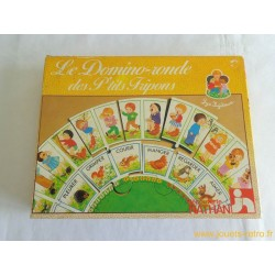 Le Domino-ronde des P'tits Frippons - jeu Nathan 1981