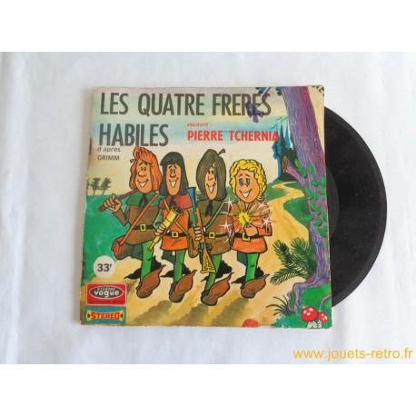 Les quatre frères habiles - 33T Livre Disque vinyle