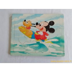 Puzzle baby Mickey et Pluto