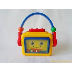 Balladeur radio cassette Kiddicraft