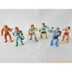 Cosmocats lot figurines Telepix 1986