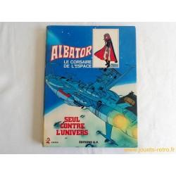 """Album """"Albator le corsaire de l'espace - Seul contre tous"""""""