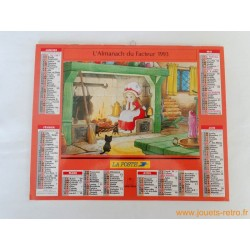 """Almanach du facteur 1993 """"Contes"""""""