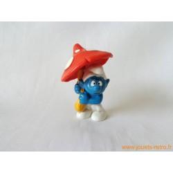 "figurine Schtroumpfs ""champignon"" Peyo"