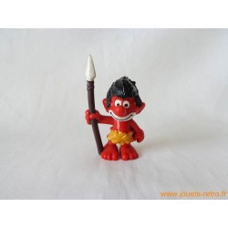 "figurine Schtroumpfs ""sauvage"" Peyo"