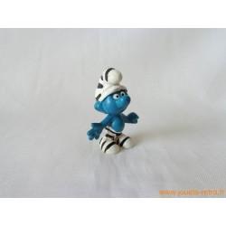 """figurine Schtroumpfs """"prisonier"""" Peyo"""