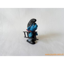 "figurine Schtroumpfs ""ramoneur"" Peyo"