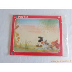 Puzzle Fenouil! MB 4 pièces