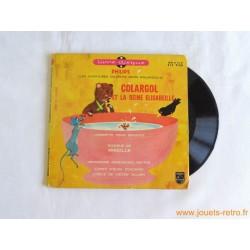 Colargol et la reine Elisabeille - 45T Livre disque vinyle