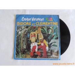 Croque Vacances Isidore et Clementine - disque 45t