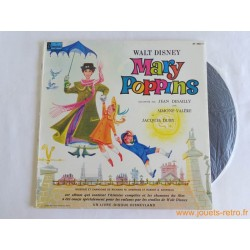 Mary Poppins - 33T Livre disque vinyle