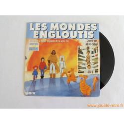 Les mondes engloutis - disque 45t