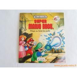 """Livre Super Mario Bros """"Piège au fond du puits"""""""