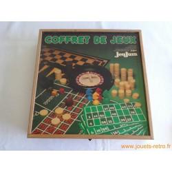 Coffret de jeux de société en bois Jeujura
