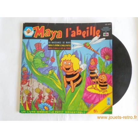 Maya l'abeille - Livre disque 33T