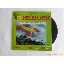 Peter Pan - Livre disque 45t