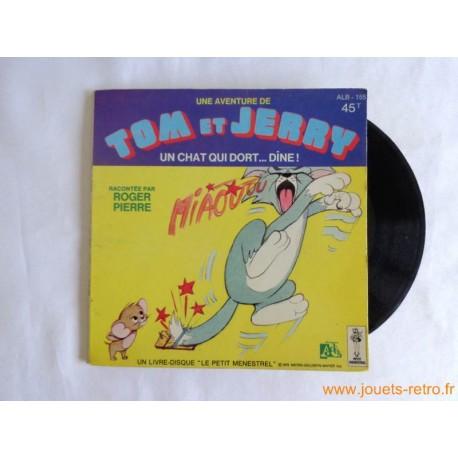 Tom et Jerry - Livre disque 45t