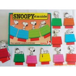 Snoopy et sa niche - jeu Nathan 1983