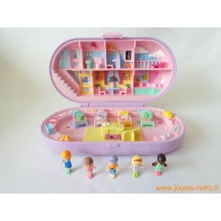 Stampin' school playset Polly Pocket 1992