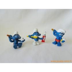 "Lot figurines Schtroumpfs ""propre"" Peyo"